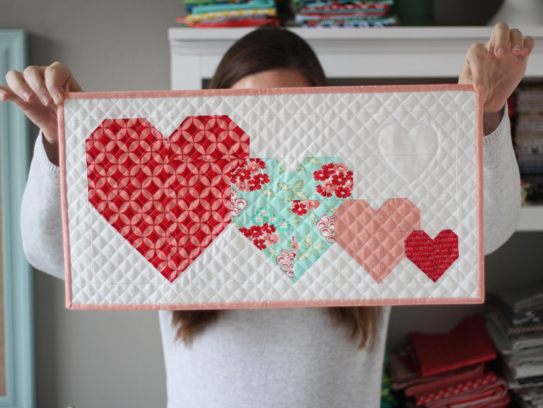 MAKE A SWEETHEART QUILT FOR YOUR SWEETHEART